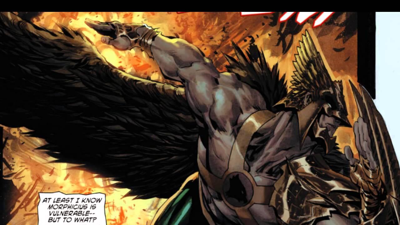 New 52 Hawkman the savage hawkman  New52