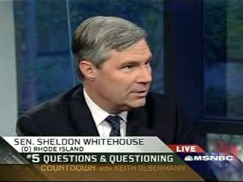 On Countdown, Keith O Talks with Sen. Whitehouse on Torture Testimon & Obama s Flip-Flop on Photos