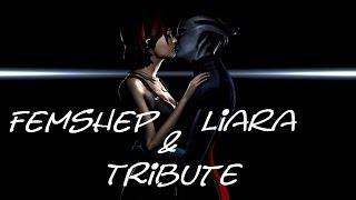 Mass Effect Tribute - Femshep/Liara T'Soni
