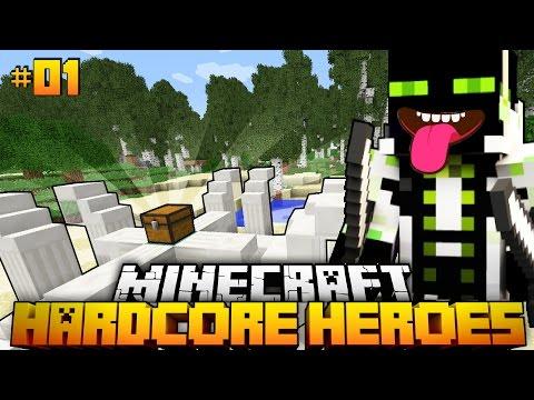 Der KAMPF der GIGANTEN?! - Minecraft Hardcore Heroes #01 [Deutsch/HD]