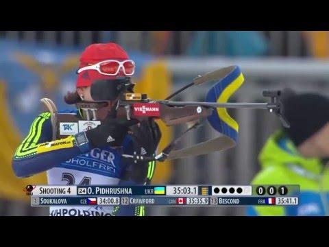 Biathlon World Cup 2016 (Week 5) - Women's 15km Race