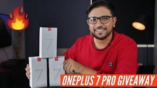 Win 3 - OnePlus 7 Pro Smartphones - GIVEAWAY!