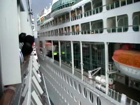 carnival legend collision