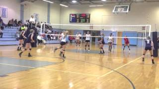 Casey Ellington South Granville Volleyball Class of 2014