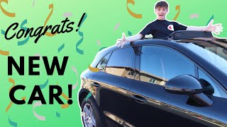 My Parents Surprised Me With My Dream Car!  * Emotional *