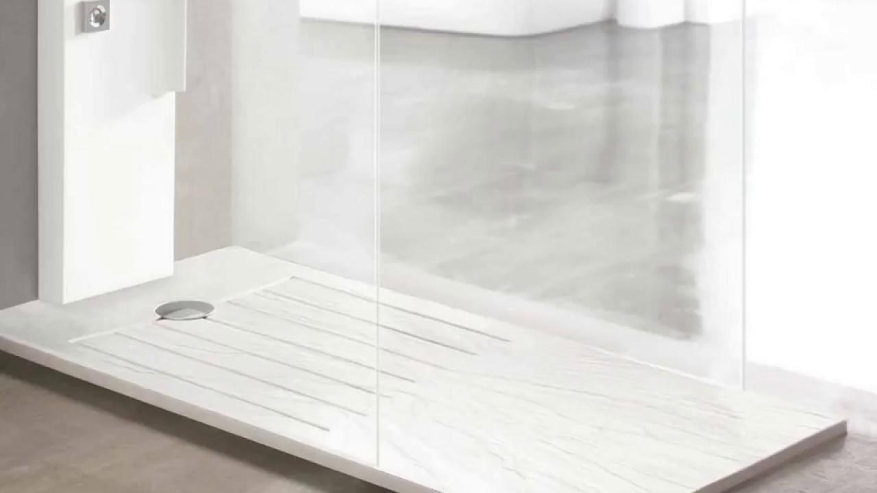 platos de ducha modernos de acquaidro youtube ForModelos De Duchas Modernas