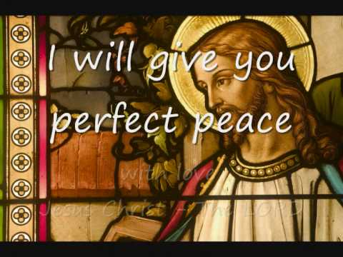 Perfect Peace - Laura Story (lyrics) video