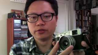 Fujifilm X100 lens adapter and hood review and how to