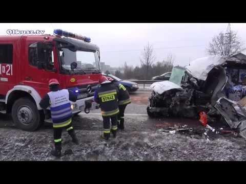 TV jaja - Kolejny wypadek koło kopalni Olkusz 23.01.2014.