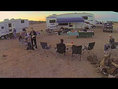Roger Zellmer's RC copter flight video at Quartzsite, AZ on 1/28/2014