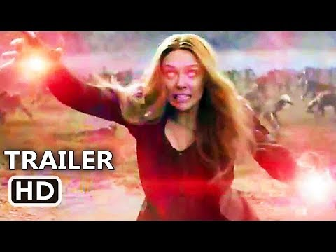 "AVENGERS INFINITY WAR ""Possessed Scarlet Witch"" Trailer (NEW 2018) Marvel Movie HD"