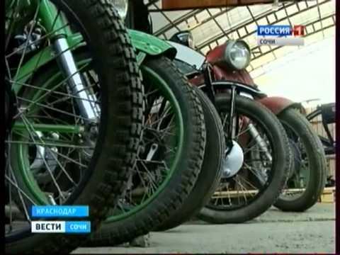 Коллекция ретро мотоциклов