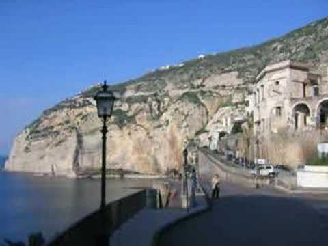 Campania Coast Italian Region European Ancient Roman Land World Travel Italy by BK Bazhe.com
