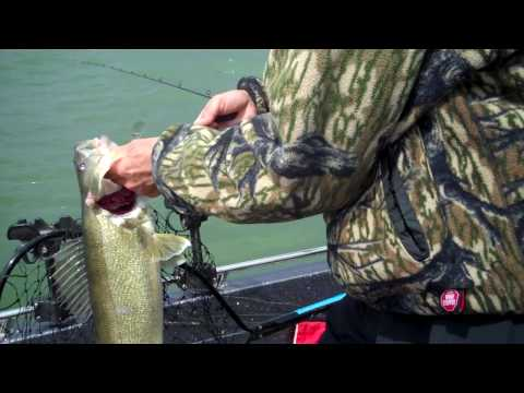 Day 4 Pre-Fishing - Nice Lake Erie Walleye - FLW Detroit River