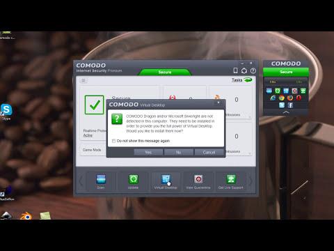 COMODO 7 Internet Security Free - Install