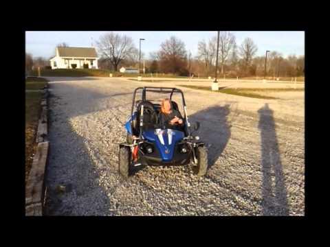 Hammerhead buggy vs TrailMaster 150 go kart