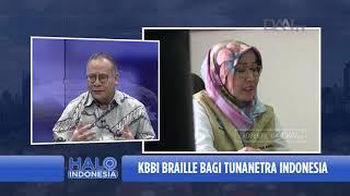 Talk Show Halo Indonesia | KBBI Braille Bagi Tunanetra Indonesia (1)