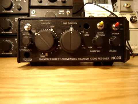Ten-Tec Radio Kit T-1056 Demonstration