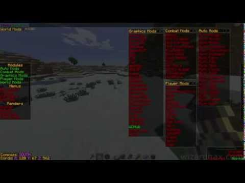 Minecraft :1.7.2 & 1.7.4 Hacked Client Force Op- WeepCraft - WiZARD HAX