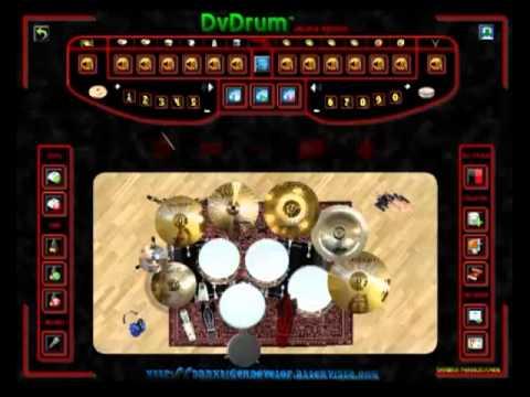 Raiden Cas Gameing - เล่นกลองโปรแกรมเพลง Eureka 7