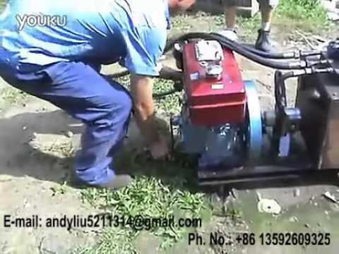 hydraulic drilling rig video 04 for upload