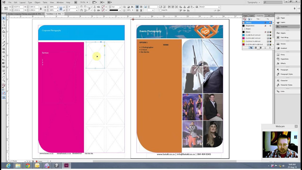 Indesign software