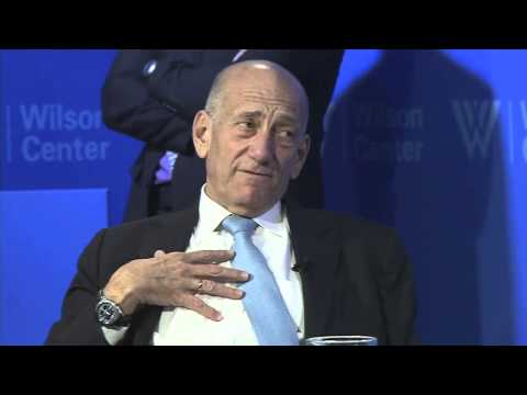Olmert discusses his failed peace proposal