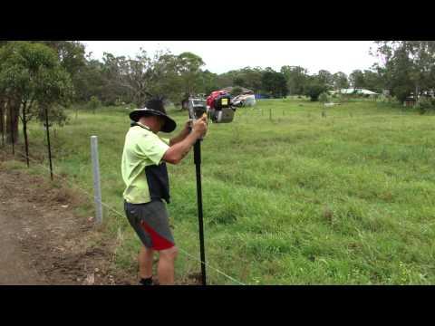 Christie Engineering petrol post driver