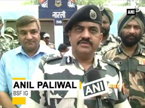 BSF recovers 'Made in Pakistan' cartridges from border - ANI News