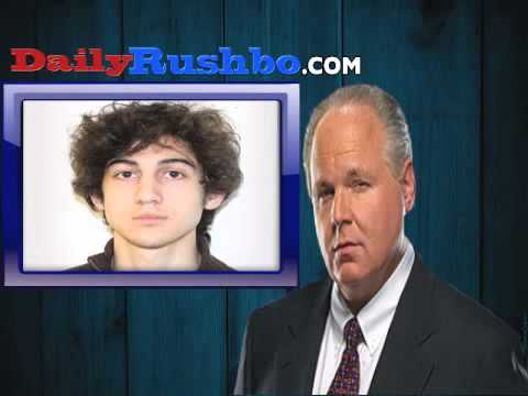 Rush Limbaugh Compares Dzhokhar Tsarnaev To Trayvon Martin (AUDIO)