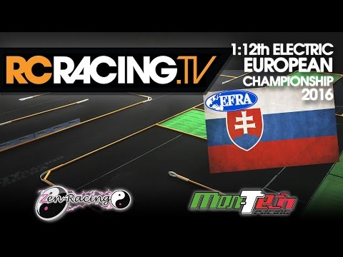 EFRA 1/12th Track Euros 2016 - Friday Practice