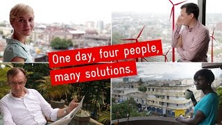 GIZ: One day. Four  people. Many solutions. 2016