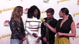 Download Lagu TEAM ALICIA Share What it's Like in the Final 12 | The Voice Top 12 Live Shows Red Carpet Gratis STAFABAND