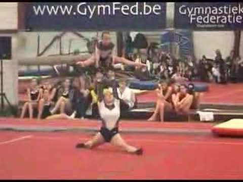 Wildgym: Annemia & Zoë,  trofee Vlaams-Brabant