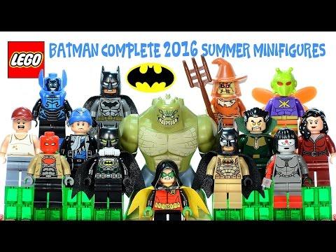LEGO® Batman: The Complete 2016 Summer Sets Minifigures