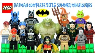 LEGO® Batman: The Complete 2016 Summer Sets Minifigures