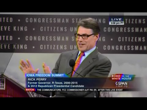 • Gov. Rick Perry • Iowa Freedom Summit • 1/24/15 •