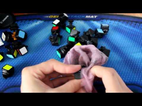 Как почистить кубик рубика