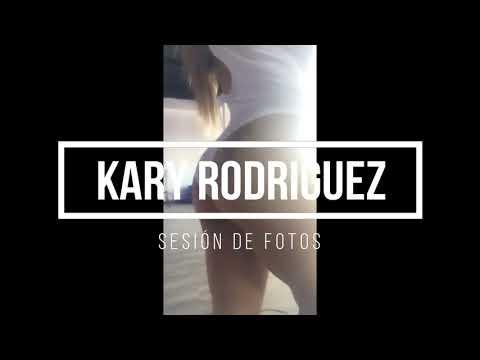 KARY RODRIGUEZ SESIÓN DE FOTOS