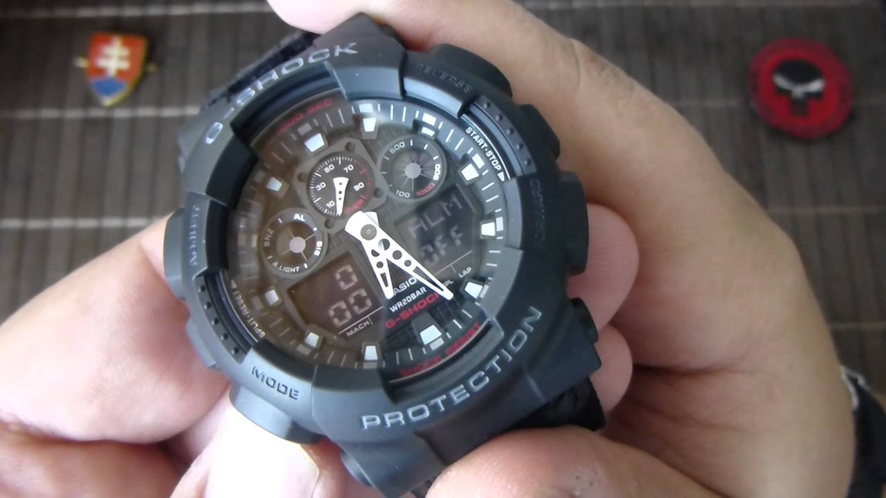 Casio G Shock Watch Ga 100 1a1d Fashion Sports Watch C9 - Relgios 100
