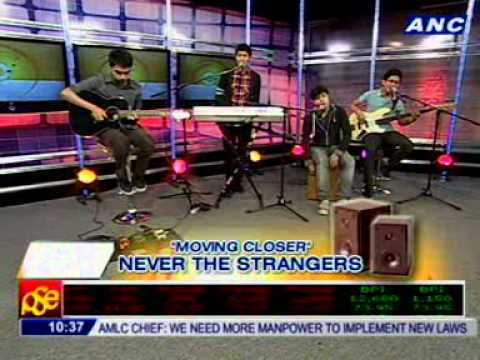 Never The Strangers performs Moving Closer