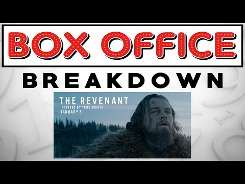 Box Office Breakdown for January 22nd - January 24th, 2016