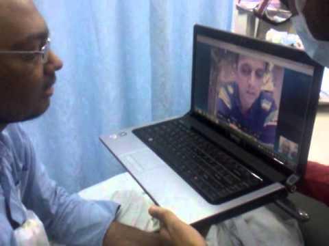 Akshay Dhoke with Rahul Dravid