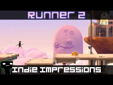 Indie Impressions - Bit.Trip Runner 2