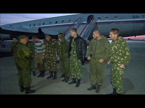 Russia and Ukraine swap captured soldiers
