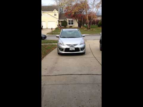 2009 MAZDA5 MAZDA 5 REAR BRAKE NOISE AFTER SITTING IN GARAGE OVERNIGHT