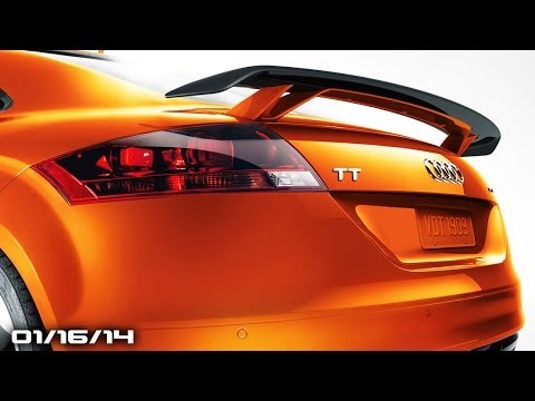 No Corvette ZR1. 2015 Audi TT. New Maybach Sedan. MINI JCW Concept. Your FLDQoftheD!