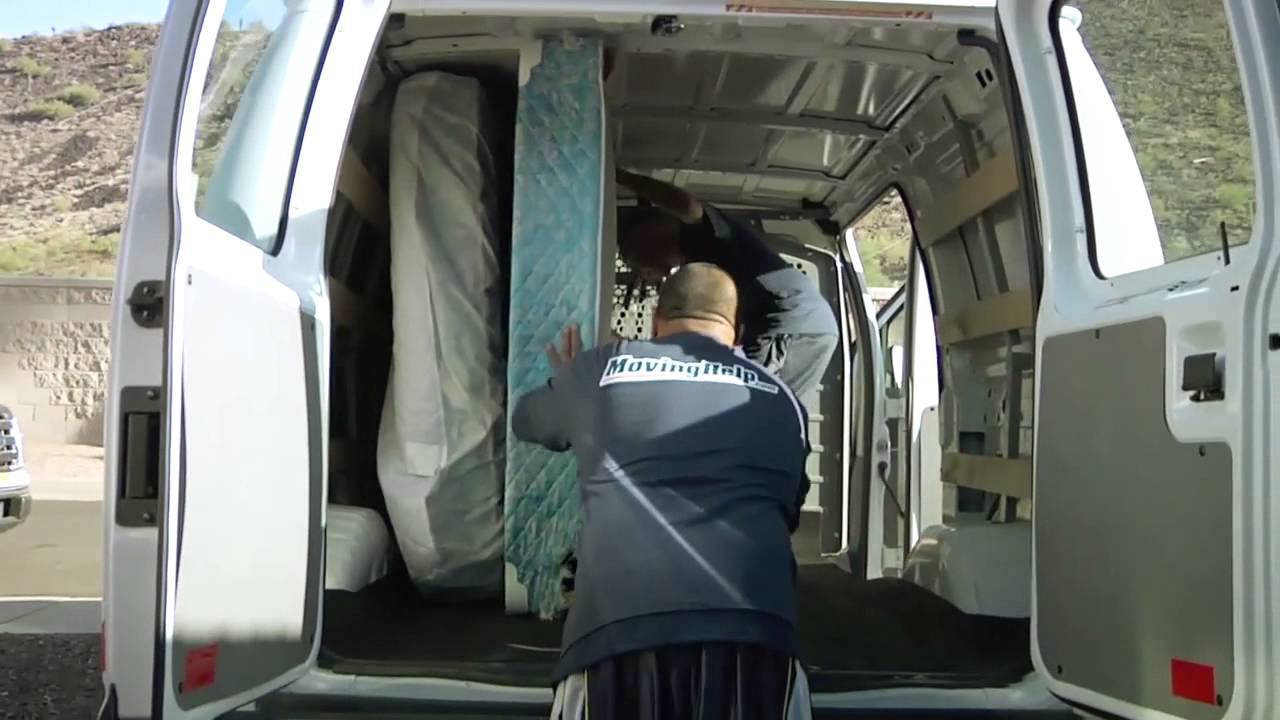 Enterprise Cargo Van Queen Size Bed