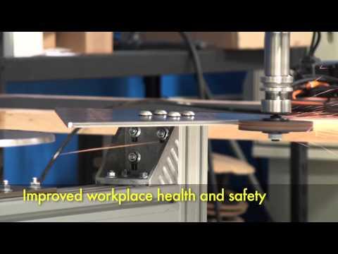 High speed robotic grinding & polishing