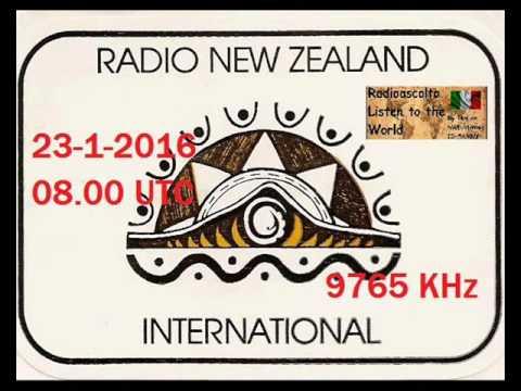 RADIO NEW ZEALAND INTERNATIONAL 9765 KHz